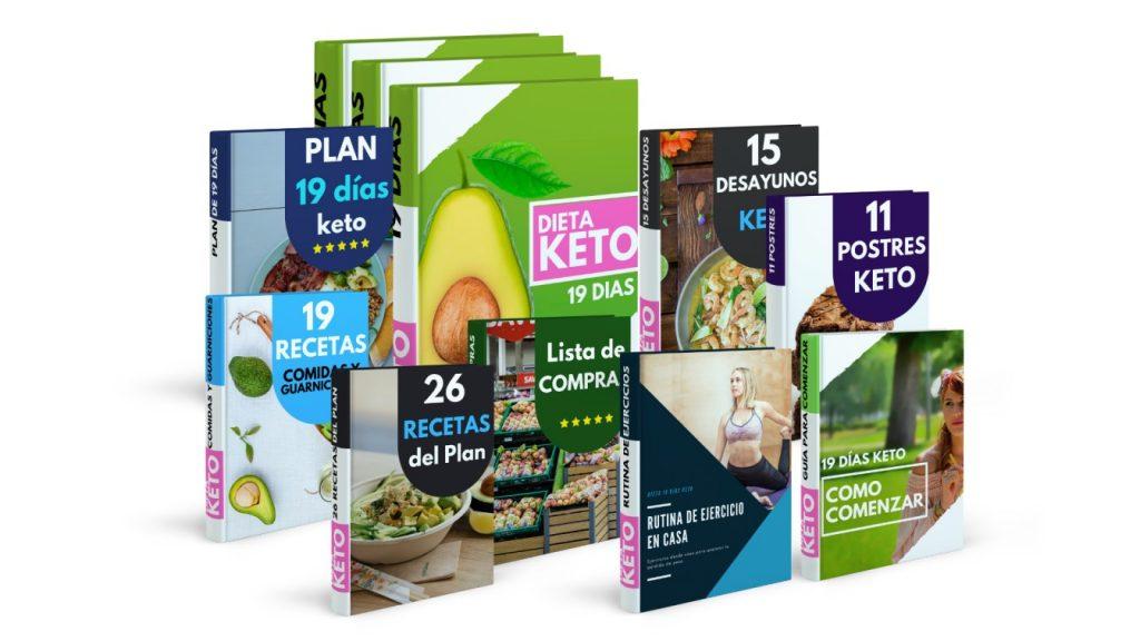 Plan de Dieta 19 días Keto